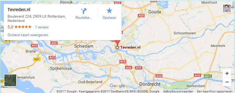 Lokale vindbaarheid Google maps
