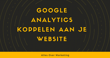Google Analytics account aanmaken